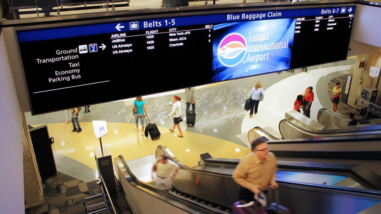 Tampa International Airport Gable